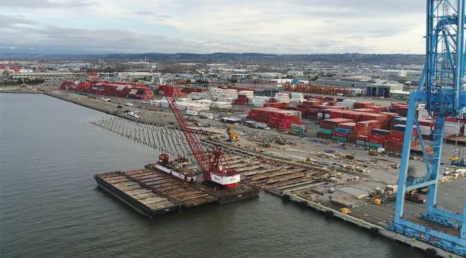 Port of Tacoma, WA Pier 4 Reconfiguration Update