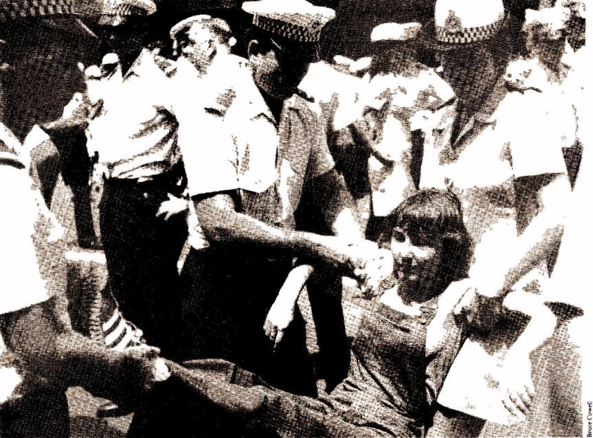 'Right to March' Movement 1977-1979