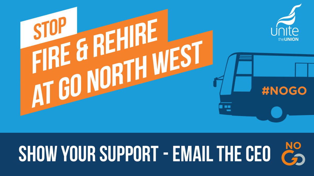 Fire and rehire Go North West buses