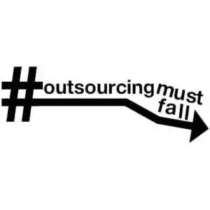 Outsourcing is falling