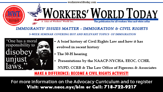 Civil Rights Training 5-Week Program