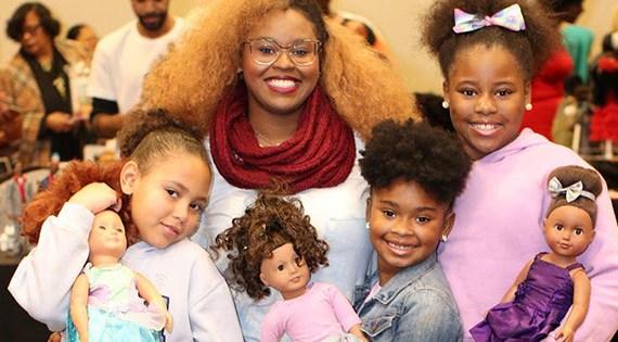 PR: Detroit to Host Largest Black Doll Show of It's Kind
