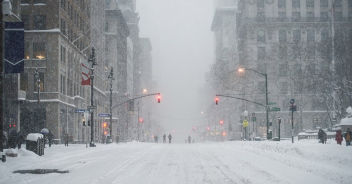 DSNY Issues Snow Alert For January 5