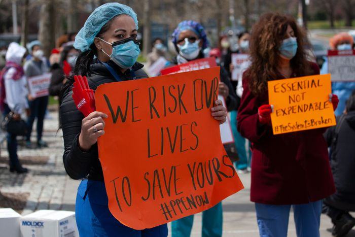 Nurses Face Scores More Deaths Amid Protective Gear Shortage, Union Suit Charges