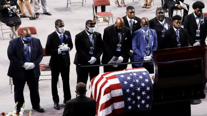 John Lewis: Mourners Pay Tributes to US Civil Rights Icon