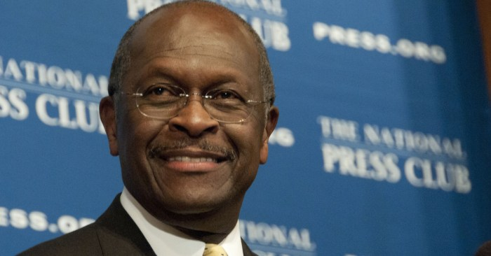 Herman Cain, 2012 GOP presidential candidate and businessman, dies at age 74