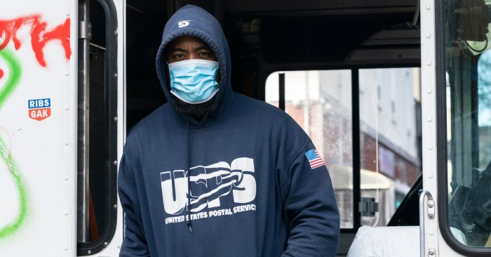 NY Postal Workers Respond to Postmaster General Louis DeJoy