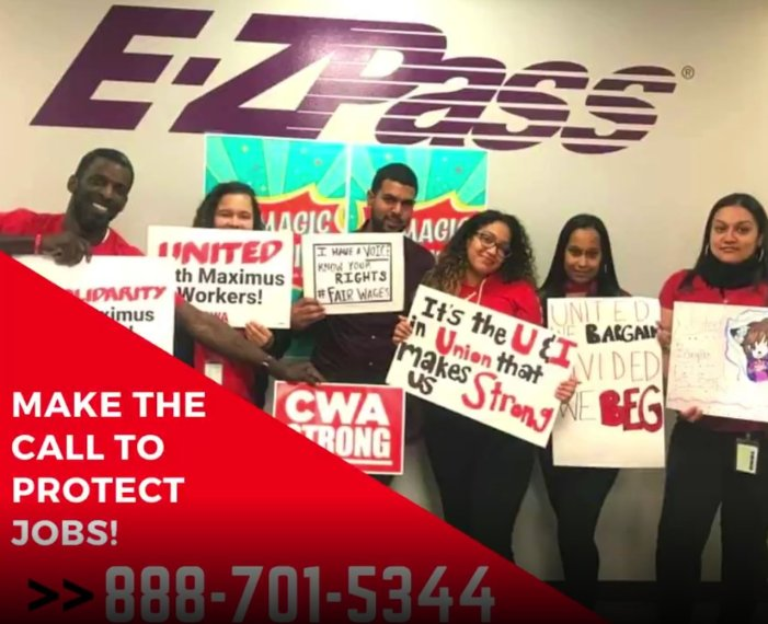 Take Action: Hundreds of State-Contracted Call Center Workers at Risk of Displacement in Staten Island