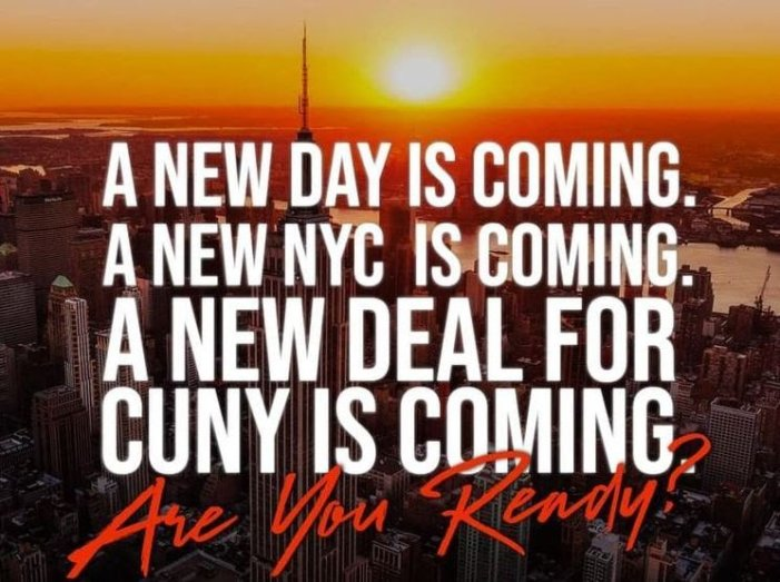 Support A New Deal for CUNY!