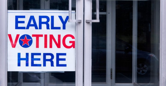 Early voting in New York starts tomorrow, October 24