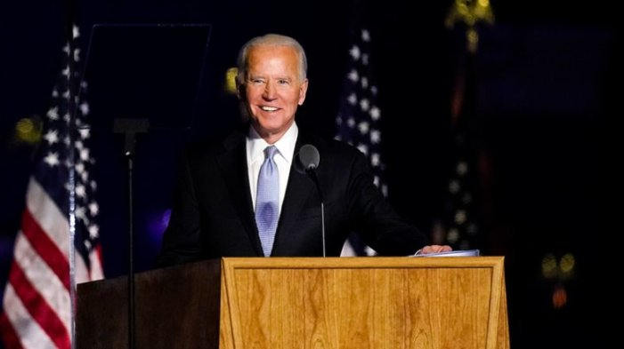 Watch President-elect Joe Biden's full acceptance speech from Delaware Saturday night