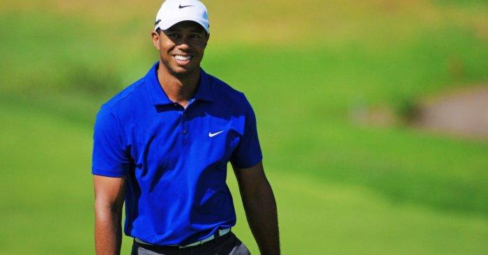 Tiger Woods' son Charlie steals show, pumps fist at PNC Championship
