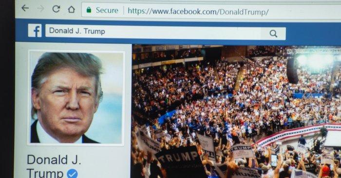 Facebook bans Trump 'indefinitely'