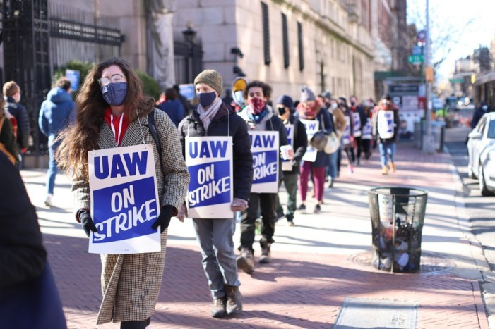 Columbia Graduate Student Workers on Strike