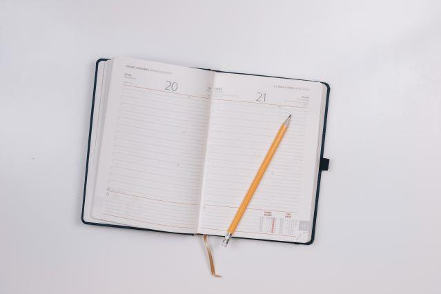 Work calendar marking fmla days