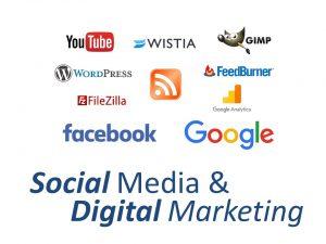 EzyLearn Social Media & Digital Marketing Training Course logo image only