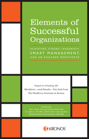 Elements of Successful Organizations