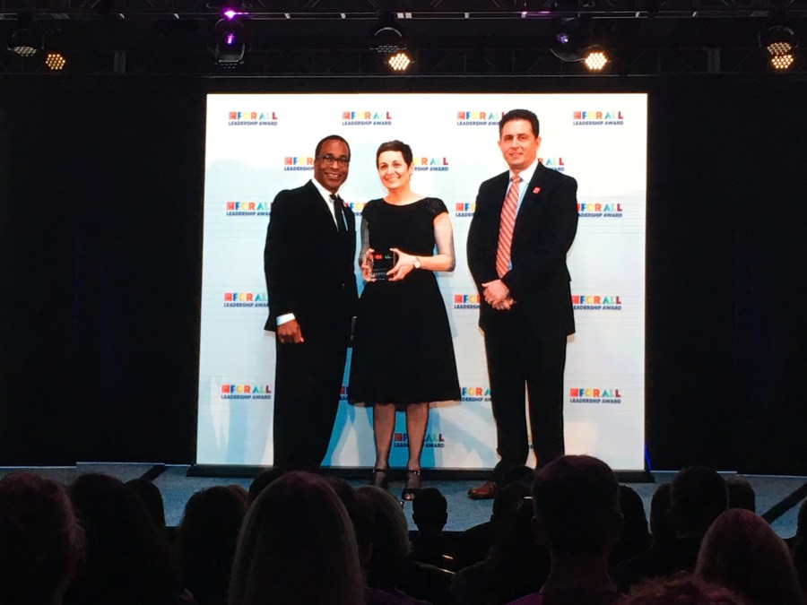 Susan Rossnick GPTW award 2018