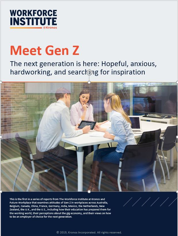 Meet Gen Z –  Optimistic and Anxious
