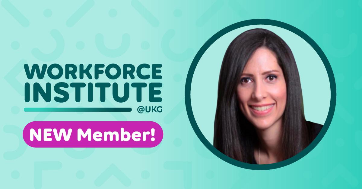 Ivonne Vargas Hernández Joins The Workforce Institute at UKG