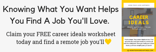 Work from home Careers