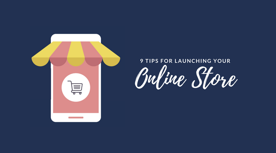 successful launch of your online store