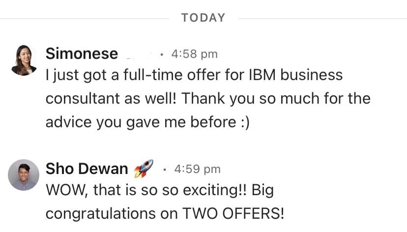 Offer from IBM