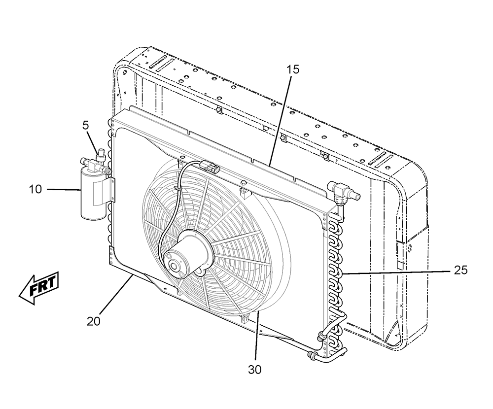 hight resolution of p32 condenser assembly