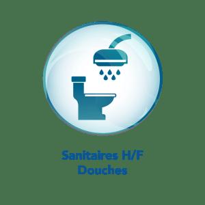 Sanitaires Hommes / femmes et douches