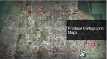 Erstellung kartografischer Pläne
