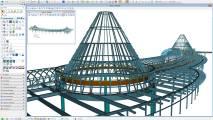 Modellierung von Stahlkonstruktionen