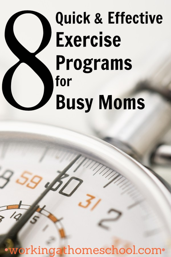 8 Exercise Programs for Busy Moms
