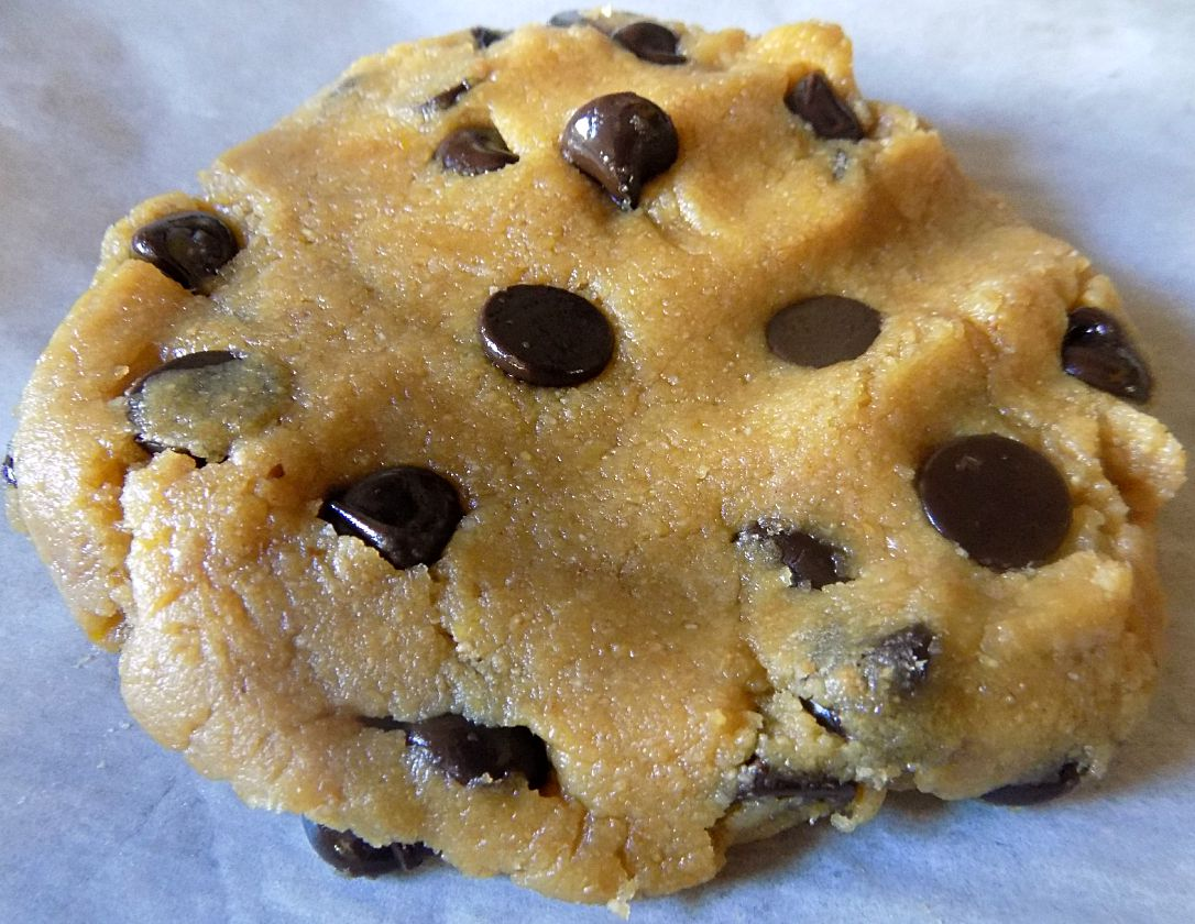 Low-Carb Giant Single-Serve Chocolate Chip Cookie - THM S