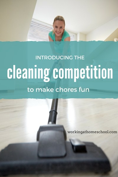 The Cleaning Competition to Make Chores Fun (and get them done!)