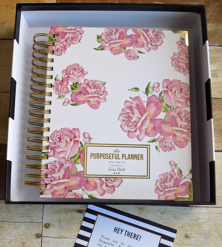 The Purposeful Planner Daily in Holly Floral