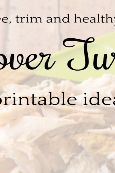 Ideas for Leftover Turkey