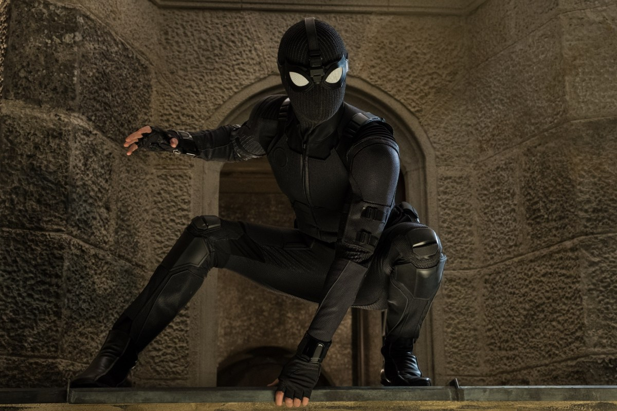 Spider-Man in Columbia Pictures' SPIDER-MAN: FAR FROM HOME