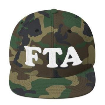 FTA snapback mockup