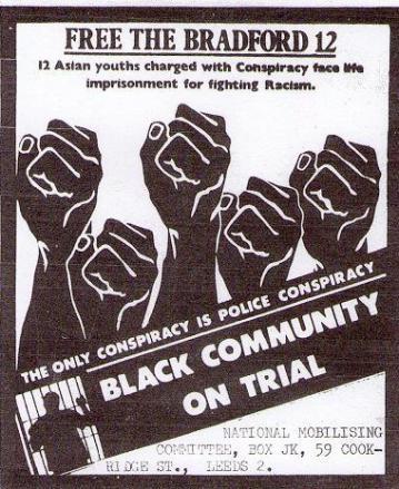 Bradford 12 support poster