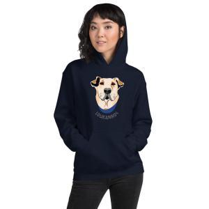 Loukanikos hoodie mockup