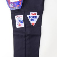 Double Knee School Pant - Navy Blue