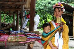 Life in the 'human zoo' villages can be disempowering for some women, but for many, it is an easy way to support their families whilst carrying on cultural traditions.