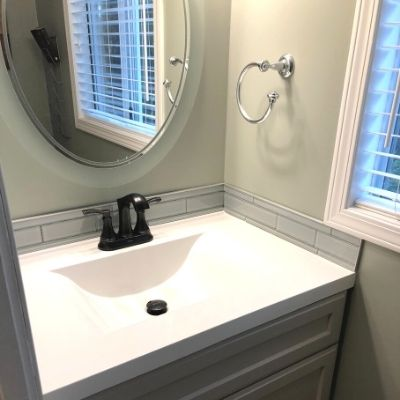 Vanity Replacement - Handyman Services