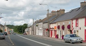 It's all happening in … Moneygall….in Co. Tipperary/Offaly