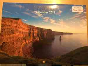 Like my Facebook page – your chance to win a 2015 Irish Calendar!