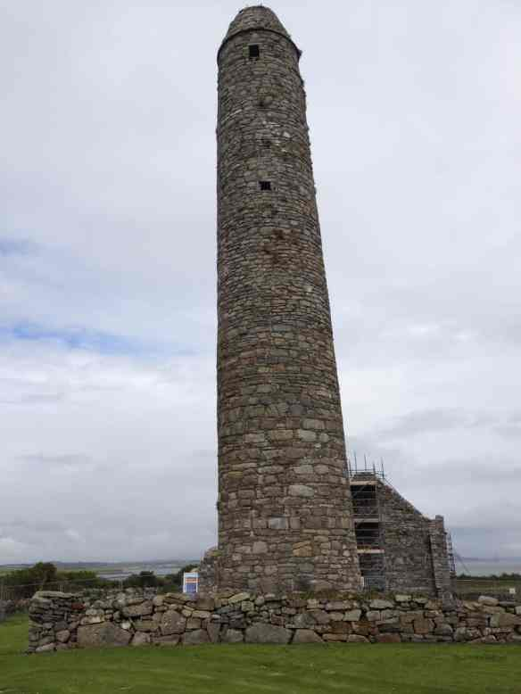 Round Tower Scattery Island, 120 feet high