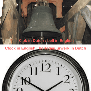 Lost in Dutch Translation : Clocks and bells