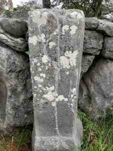 Old Irish Mile Stones Ardrahan