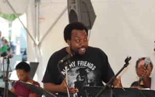 Enoch King at the Decatur Arts Festival