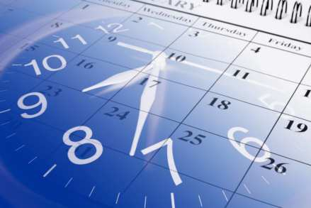 Image of clock to symobolise Occupational Health Appointment Schedule